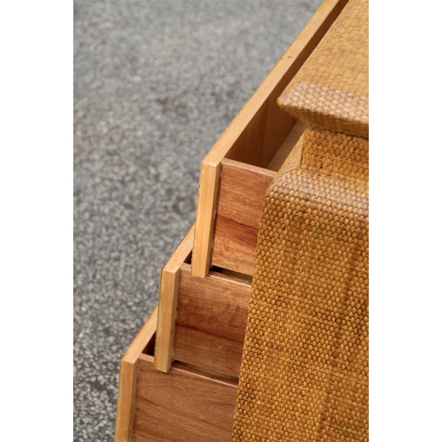 Heavenly Raffia Chest by Harrison Van Horn For Sale - Image 9 of 11