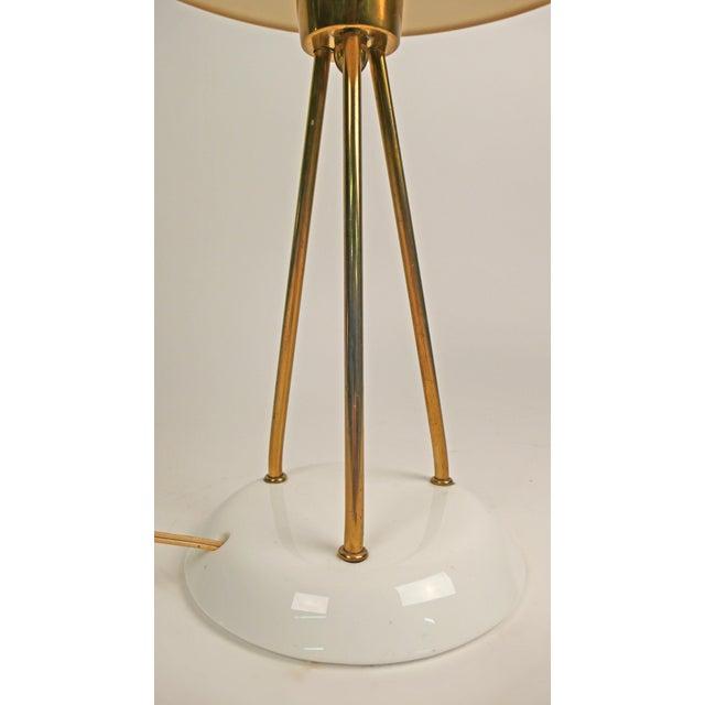 Lightolier Lightolier Vitrolite Lamp For Sale - Image 4 of 7