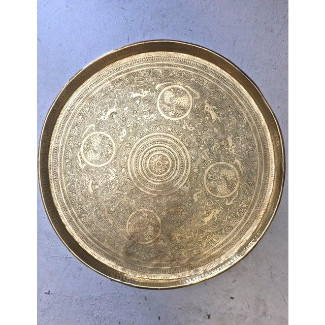 Mid Century Moorish Side Table For Sale - Image 4 of 10