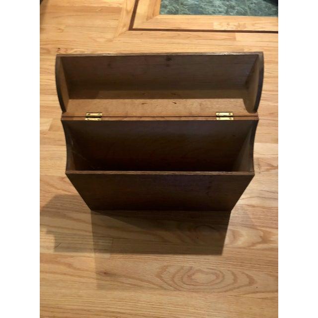 Brown Antique Oak San Francisco City Tax Filing Cabinet For Sale - Image 8 of 11