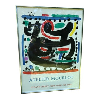 Joan Miro for Atelier Mourlot Lithographer Show 1967, Poster For Sale