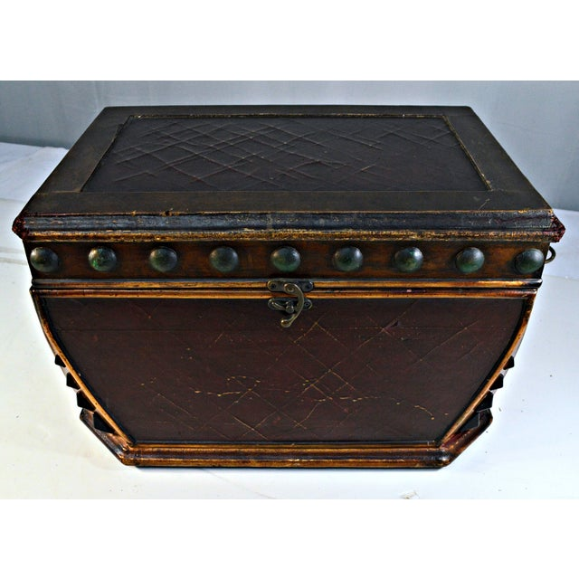 Decorative Wooden Coffer - Image 3 of 10