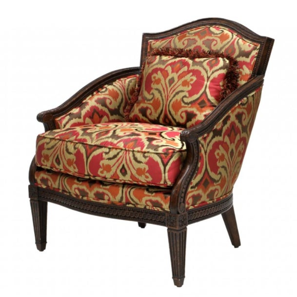 Designer Louis XVI Style Lounge Armchairs - A Pair - Image 2 of 5