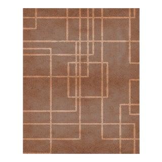 Covet Paris Terracotta Neutral Rug - 6′7″ × 9′10″ For Sale