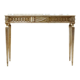 1990s Louis XVI Style Side Table For Sale