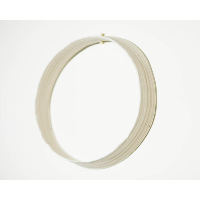 """Clay Yokky Wong """"Cycles"""" Series Wall-Mounted Porcelain Ring Sculpture #6 For Sale - Image 7 of 7"""