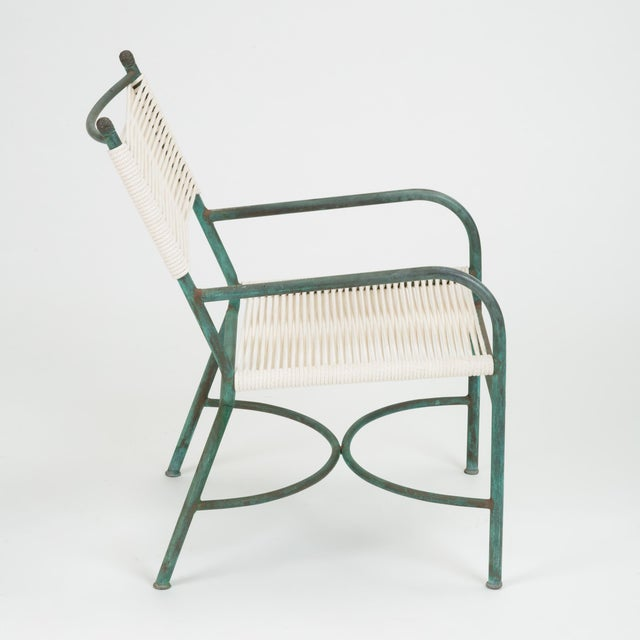 Robert Lewis Bronze Patio Lounge Chair For Sale - Image 10 of 13