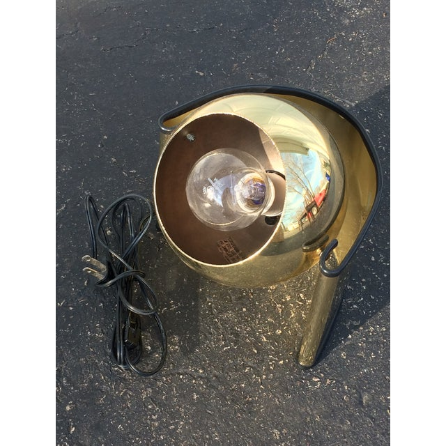Mid-Century Golden Table Lamp - Image 6 of 7