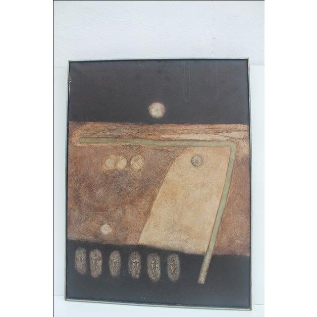 "Denyll Darius ""Soul Birds"" Painting - Image 7 of 11"
