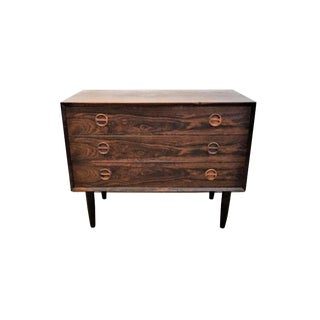 1960s Scandinavian Rosewood Commode For Sale