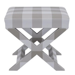 X Bench in Ivory Check For Sale
