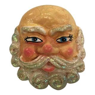 Mid-Century Santa Face Ornament For Sale