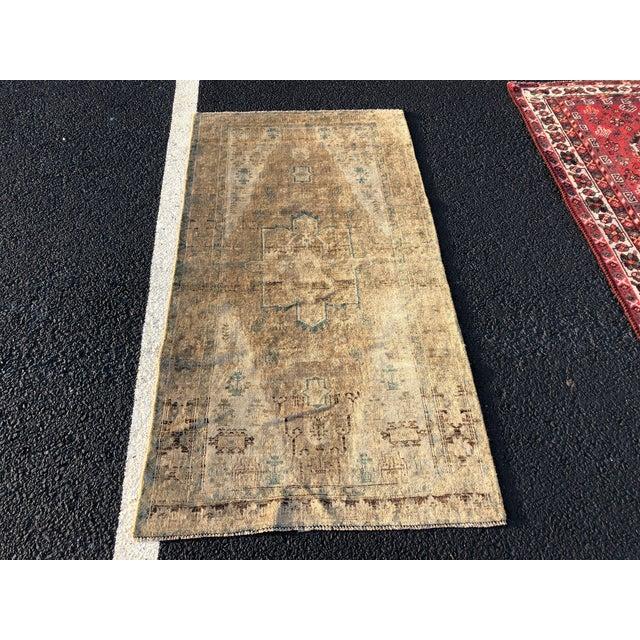 "Vintage Persian Lilihan Rug - 3' x 5'8"" - Image 10 of 10"
