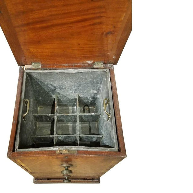 Traditional Federal Ice Chest - 18th Century For Sale - Image 3 of 8