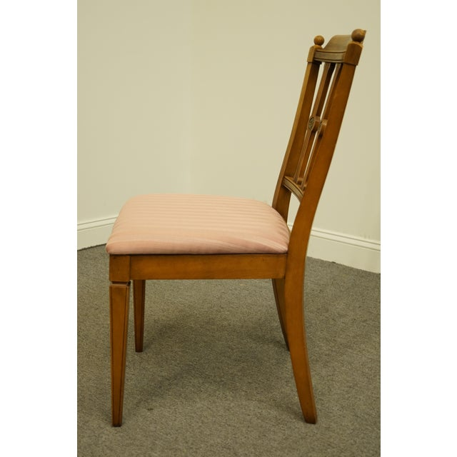 Vintage Century Furniture Italian Inspired Dining Side Chair For Sale In Kansas City - Image 6 of 9