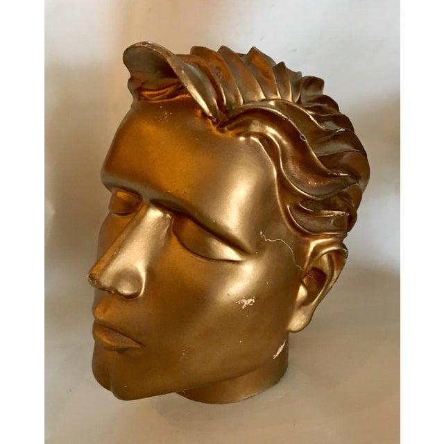 Vintage Fiberglass Man Mannequin Head For Sale - Image 13 of 13