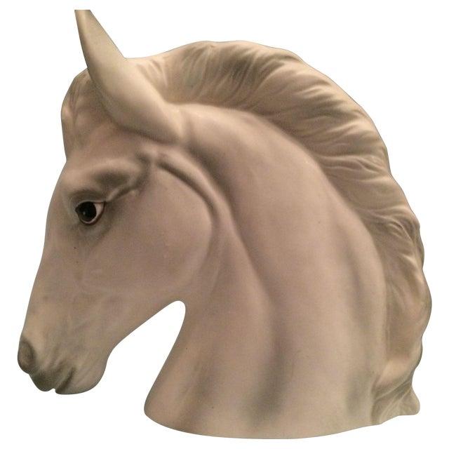 Ceramic Horse Vase For Sale