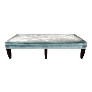 Horchow Velvet Ottoman Table
