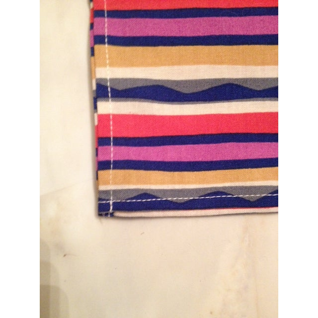Missoni Striped Home Napkins - Set of 4 - Image 4 of 6