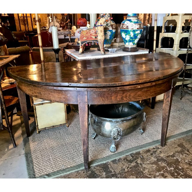 French Provincial Round Dining Table For Sale - Image 4 of 9