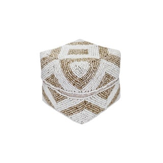 Bamboo Beaded Box X-Small For Sale