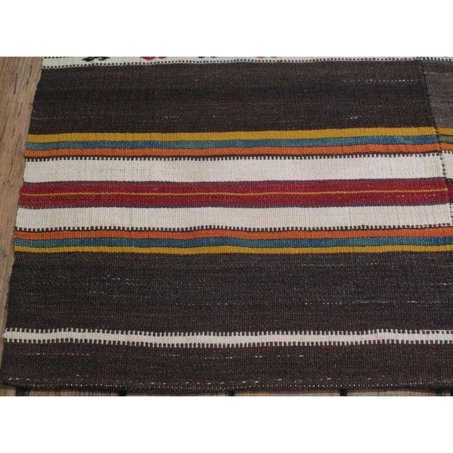 Banded Kilim For Sale - Image 4 of 6