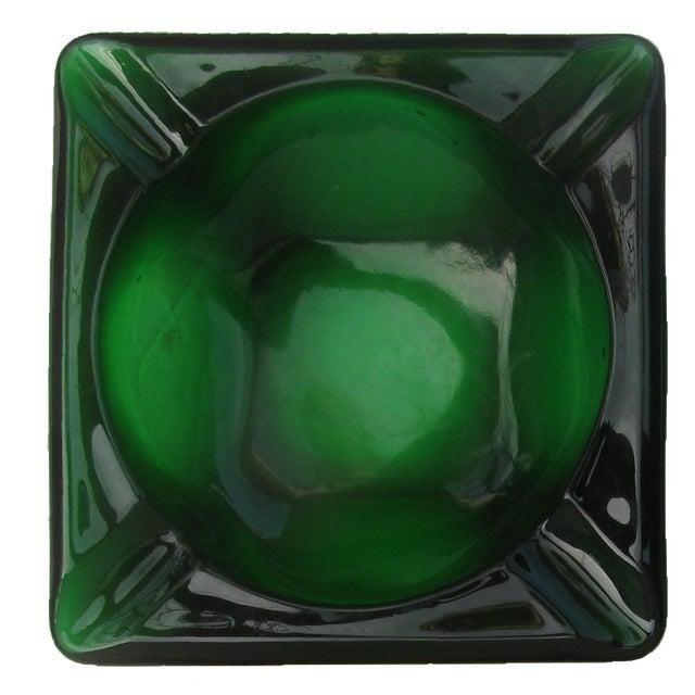 Mid-Century Modern Mid-Century Modern Art Glass Ashtrays, Set of 4 For Sale - Image 3 of 7
