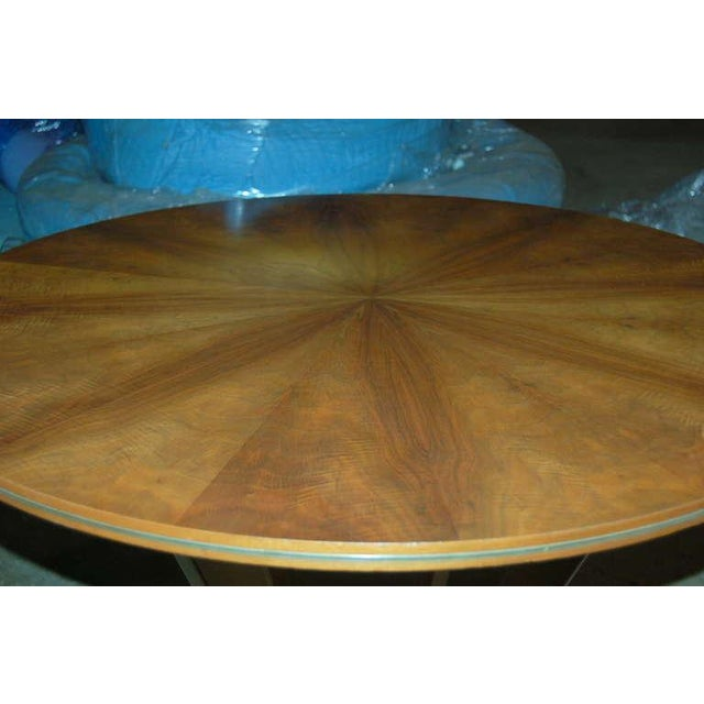 Gold Jese Mobel Danish Vintage Wood Table For Sale - Image 8 of 10