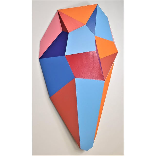 Abstract Sassoon Kosian Ready for Action Wall Sculpture For Sale - Image 3 of 7