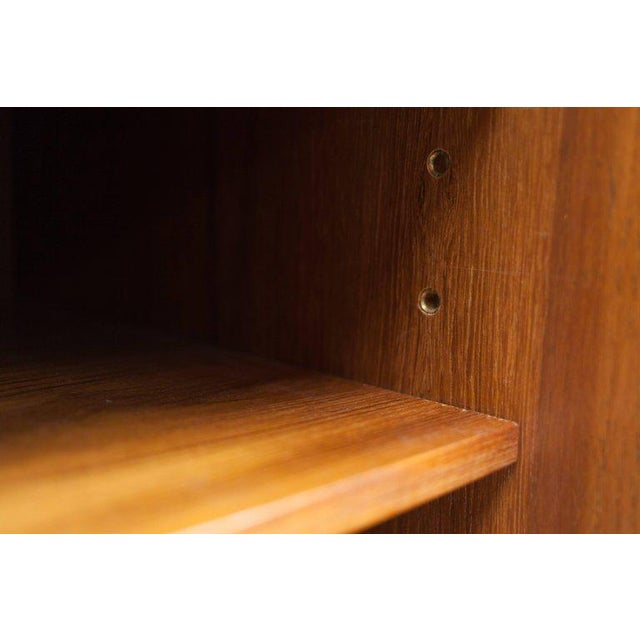 Modern Credenza in Teak by Florence Knoll, Manufactured by De Coene, 1950s For Sale - Image 6 of 11