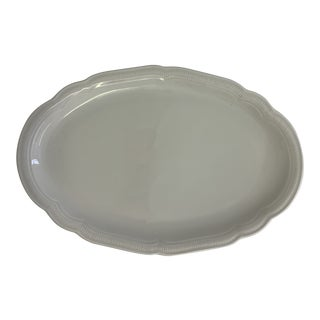 Mid-Century Hutschenreuther Oval Serving Platter For Sale