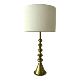 Vintage Stiffel Brass Plated Lamp For Sale