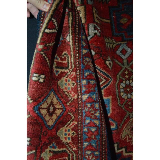 "Persian Heriz Rug - 4'5"" x 6' - Image 7 of 7"
