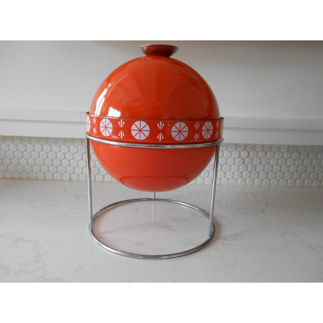 Orange Cathrineholm Soup Tureen - Image 2 of 9