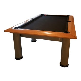 Contemporary Brunswick Manhattan Pool Table