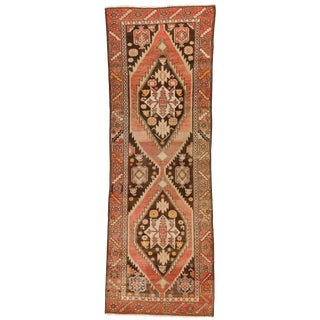 "1910s Turkish Oushak Runner - 3' X 8'10"" For Sale"