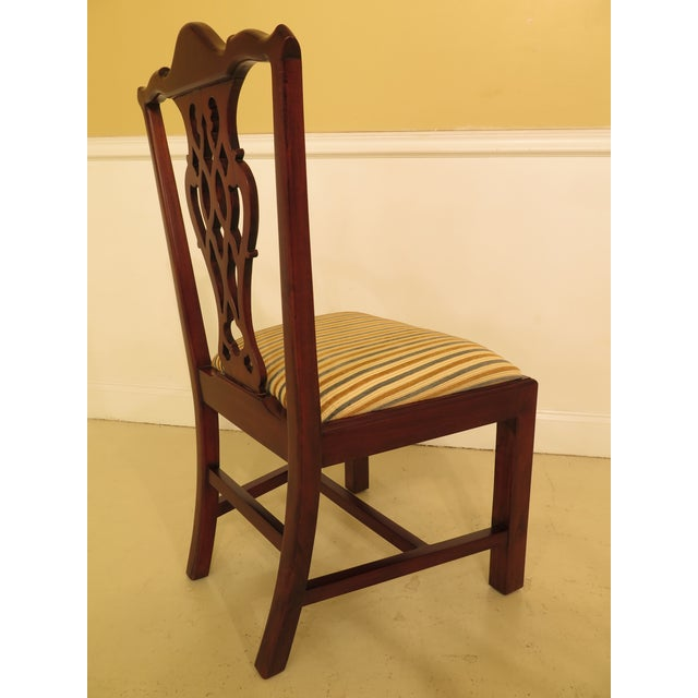 Chippendale Carved Mahogany Dining Room Side Chairs - Set of 16 - Image 4 of 13