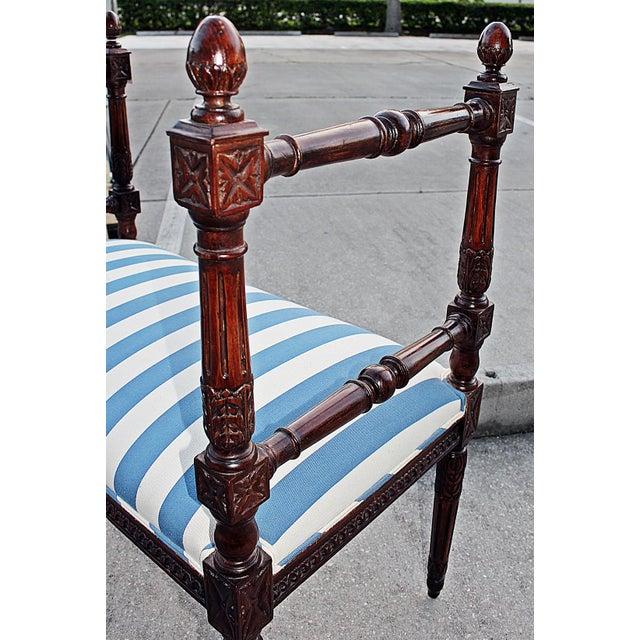 Louis XVI Style Bench - Image 6 of 7