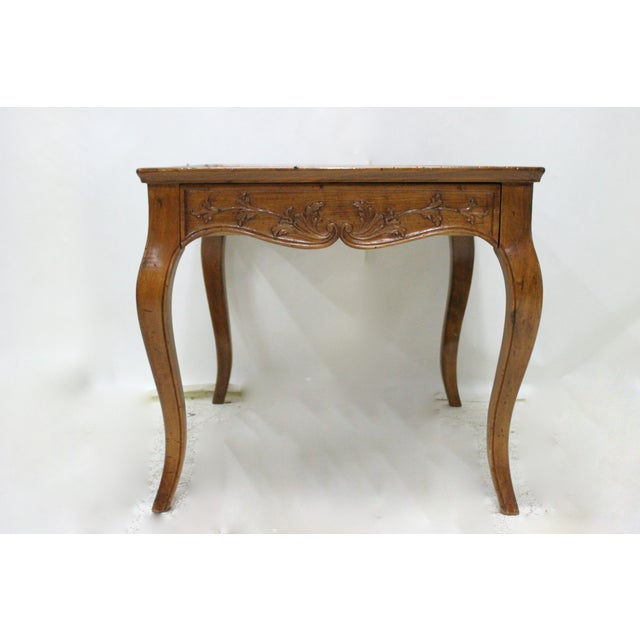 Carved Italian Side Table - Image 2 of 3