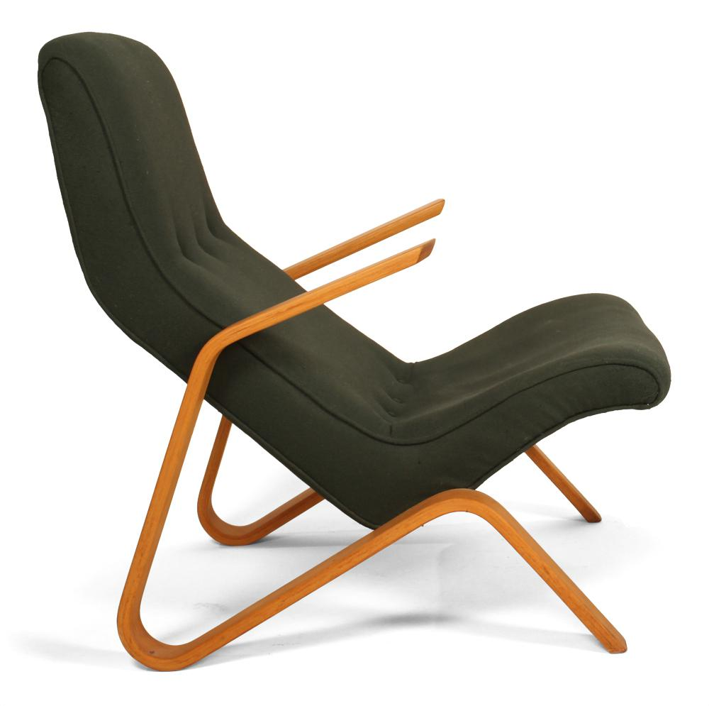 Vintage Eero Saarinen For Knoll Grasshopper Chair U0026 Ottoman   Image 5 ...