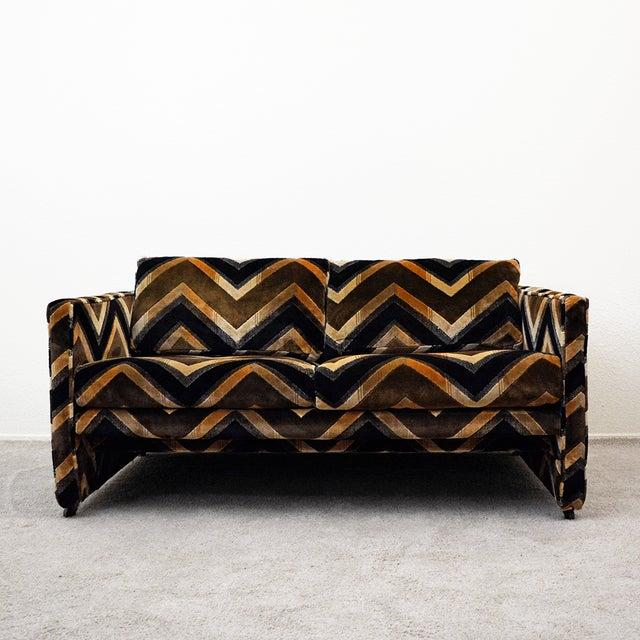 Mid Century Milo Baughman Style Case Sofa For Sale In Las Vegas - Image 6 of 13
