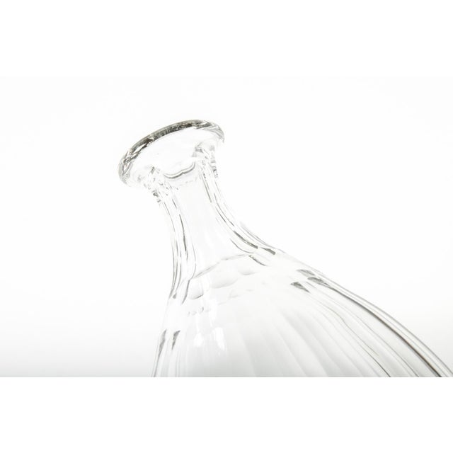 1960s 1960s Acid Etched Baccarat Decanter For Sale - Image 5 of 8