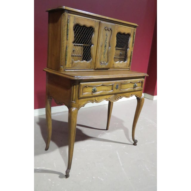 19th C. Country French Writing Desk For Sale - Image 11 of 13