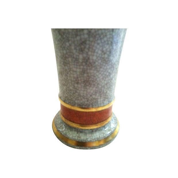 Thorkild Olsen Danish Celadon Vase - Image 2 of 3