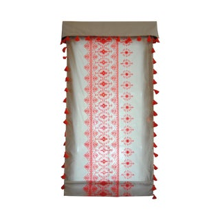 Custom Roman Shade Valance For Sale
