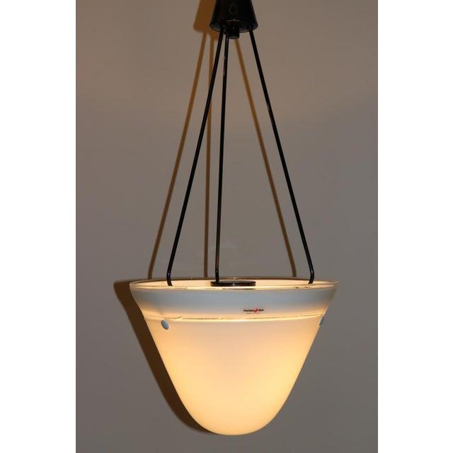 Murano Mid-Century Modern Murano Glass Pendant Lamp For Sale - Image 4 of 13