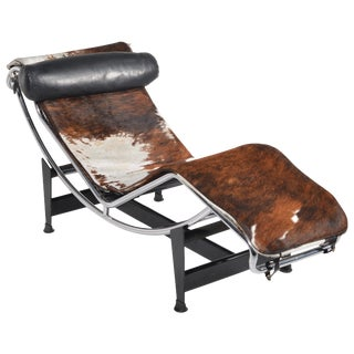 Le Corbusier Lc4 Chaise Lounge for Cassina For Sale