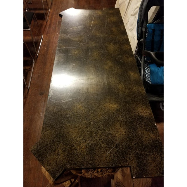 Maitland-Smith Vintage Console Table For Sale - Image 11 of 11