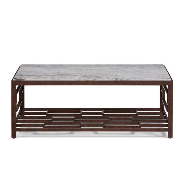 Kenneth Ludwig Chicago Marcos Coffee Table from Kenneth Ludwig Chicago For Sale - Image 4 of 4
