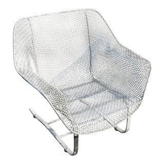 Vintage Mid-Century Modern Woodard Sculptura Spring Chair